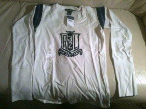 Ralph Lauren T-shirt (white, boy XL - 16)