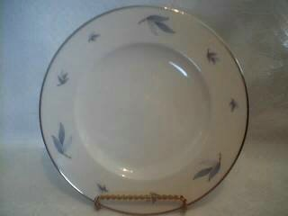 "Syracuse China Dessert or Salad Plate ""Celeste"" Blue & White Floral"