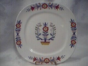 """Taylor Smith Taylor """"Indian Tree"""" Vintage China Plate Conversation"""