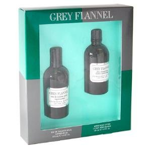 GREY FLANNEL by Geoffrey Beene - Gift Set -- 4 oz Eau De Toilette Spray + 4 oz After Shave (Men)