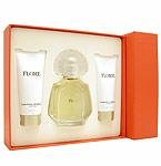 FLORE by Carolina Herrera - EAU DE PARFUM SPRAY 3.4 OZ & BODY LOTION 3.4 OZ & (W)