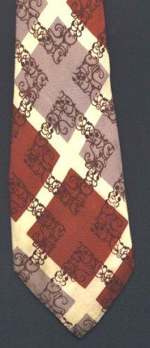 Vintage 40s Tie Rockabilly Swing RAXON BRILL rooster brand VLV