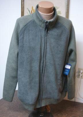 Denver Hayes Solar fleece Jacket zipper cardigan 2XL NEW