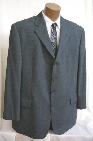 Baracuta Soft 4 button Grey Gray Sport Coat Blazer 48 L tall NEW