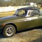 1975 MGB MG-B Location Haysville Kansas