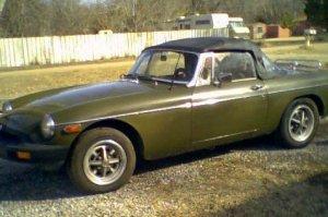1975 MGB MG-B Location Haysville Kansas