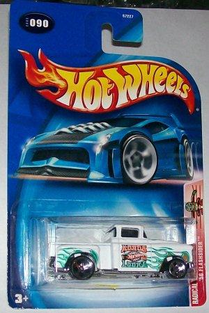 Hot Wheels 2003 '56 flashsider white #90 5dot wheels