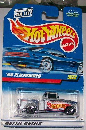 Hot Wheels '56 flashsider silver #899 5 spoke wheels