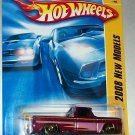 Hot Wheels 2008 new models #13 custom '62 chevy w/surf board