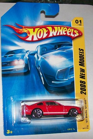 Hot Wheels 2008 new models #1 '07 SHELBY GT-500 MUSTANG