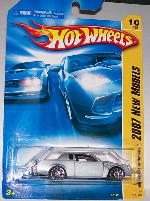 Hot Wheels 2007 NEW MODELS #10 BUICK GRAND NATIONAL GREY
