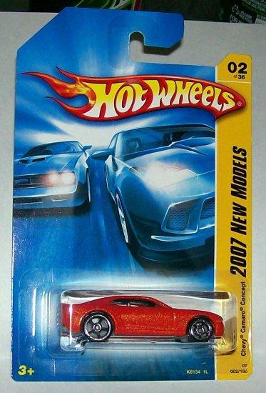 Hot Wheels 2007 NEW MODELS #2 CHEVY CAMARO CONCEPT MF ORANGE