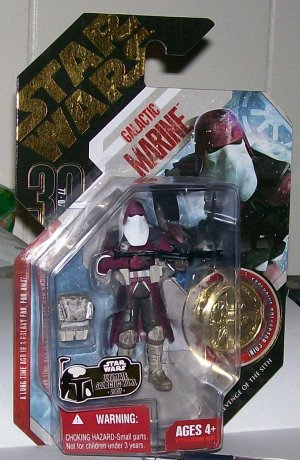 "STAR WARS 30TH ANNV.GOLD COIN ""GALACTIC MARINE""#02"