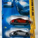 Hot Wheels 2007 NEW MODELS #32 PORSCHE CAYMAN 3 CAR LOT