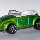 HOT WHEELS 2007 #167 MYSTERY CAR VW BUG CONV. GREEN