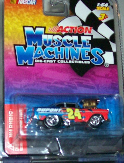 "ACTION MUSCLE MACHINES 2005 NASCAR ""JEFF GORDON"""