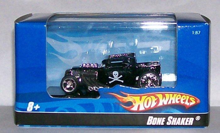 """Hot Wheels 2007 HO 1:87 SCALE BLK """"BONESHAKER"""""""
