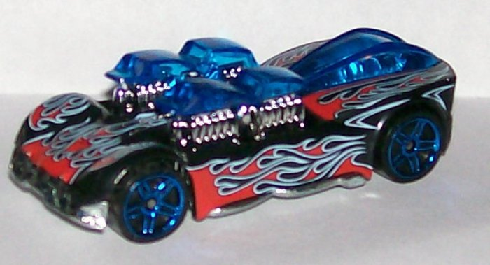 """HOT WHEELS 2007 #157 MYSTERY CAR """"WHAT-4-2"""" BLK"""