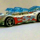 "HOT WHEELS 2007 #157 MYSTERY CAR ""WHAT-4-2"" WHITE"