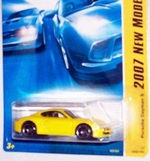 Hot Wheels 2007 NEW MODELS #32 PORSCHE CAYMAN PEARL YELLOW