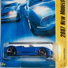 Hot Wheels 2007 NEW MODELS #17 FORD GTX-1 BLUE