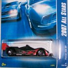 "Hot Wheels 2007 ALL STARS #139 ""FERRARI 333 SP"" BLK"