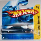 "HOT WHEELS 2007 FE #18 ""64 FORD GALAXIE 500XL"" BLUE"