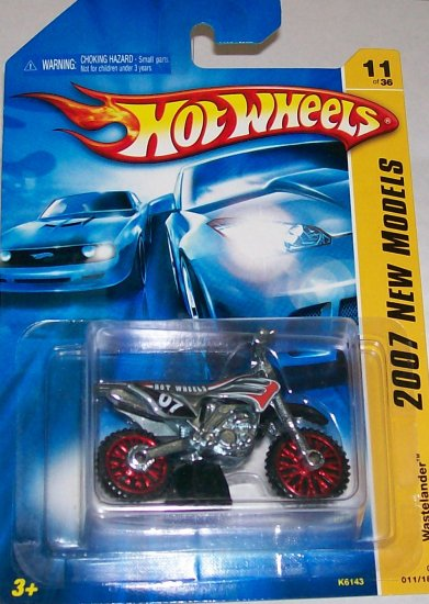 "Hot Wheels 2007 NEW MODELS #11 ""WASTELANDER"" SQUARE BLISTER"
