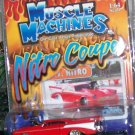 "2004 MUSCLE MACHINES NITRO COUPE ""N.Y. NITRO"" 57 CHEVY MIKE SWINARSKI"