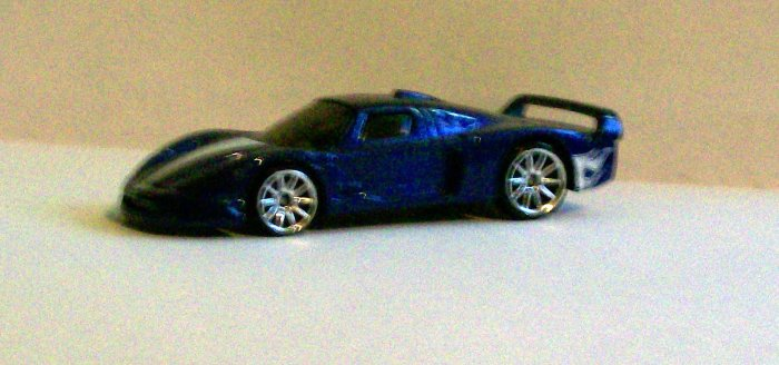 "HOT WHEELS 2007 #166 MYSTERY CAR ""MASERATI MC-12"""