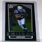 "TOPPS DRAFT PICKS 2007 ""JOSEPH ADDAI"" #52 BLACK CHROME CARD"