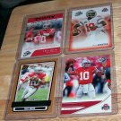 "PRESS PASS 2007 ""TROY SMITH"" 4 CARD ROOKIE LOT"