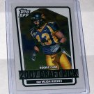 "TOPPS DRAFT PICKS 2007 ""DAYMEION HUGHES"" SILVER CHROME #'D 143/299"