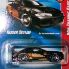 "Hot Wheels 2008 WEB TRADING CARD ""NISSAN SKYLINE"" #81"