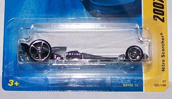 "Hot Wheels 2007 NEW MODELS #21 ""NITRO SCORCHER"""