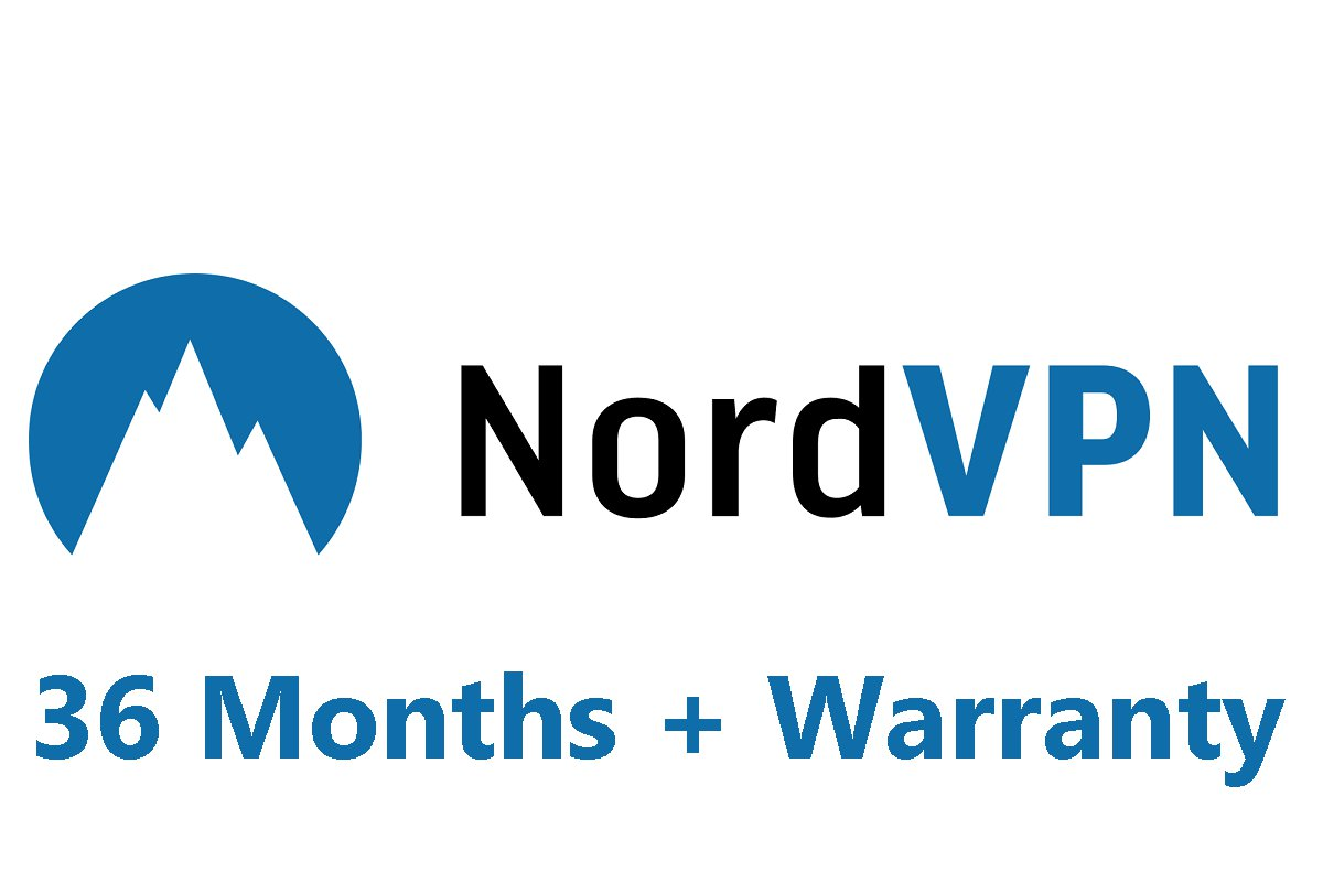 Nord VPN | 36 MONTHS Subscription | LIFE TIME Warranty