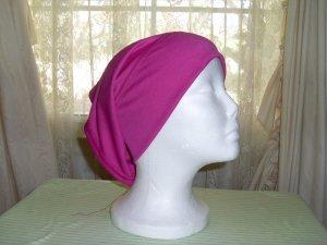 Magenta underscarf hijab