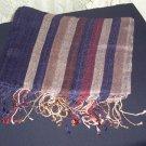 Navy blue shawl, shayla hijab
