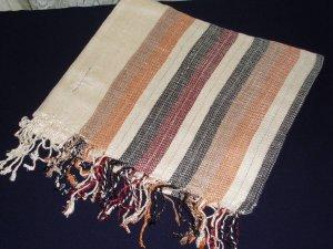 Cream shayla, shawl, hijab