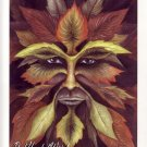 JESSICA GALBRETH Print THE GREEN MAN 8.5x 11 Wiccan