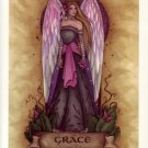 NEW JESSICA GALBRETH Print GRACE ANGEL 8.5 x 11 Fairy