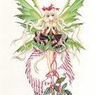 NENE THOMAS Print CANDY CANE 8.5 x 11 FAIRY FAERY anime