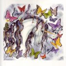 NEW NENE THOMAS Print PETAL Unicorn BUTTERFLY Flower