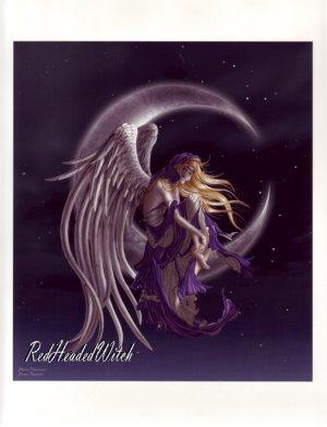 NEW NENE THOMAS Print MOON DREAMER FAERY FAIRY ANGEL