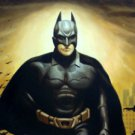 "Protrait Super Hero Batman Bats Oil Painting 12""16...41"