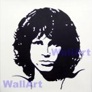 "005 jim morrison pop Art Modern Painting b n w 20""20"