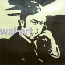 "057 MICHAEL CAINE Modern Pop Art Painting on Canvas 20""20"