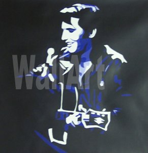 075 Elvis Presley 68 come back Pop Art Painting Canvas