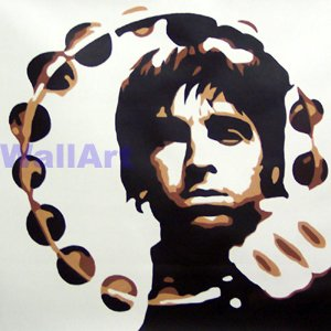 078 Noel Gallagher Oasis Pop Art Modern Painting Canvas