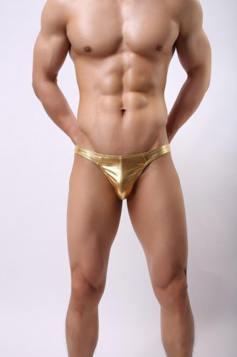 SEXY MENS LINGERIE G-String Metallic color MALE underwear, thong, lingerie underpants ml-nio027